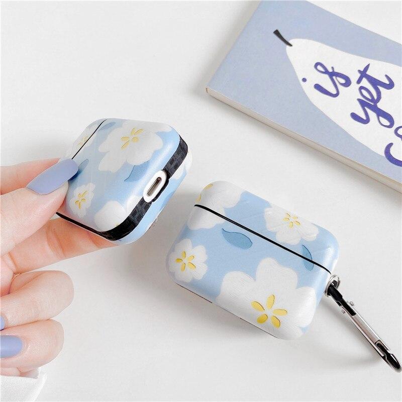 Купить милый чехол с цветочным узором для airpods pro наушников коробка