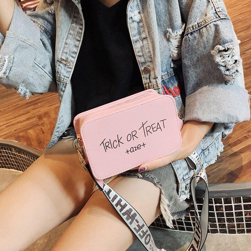 2020 New Fashion Women's Bag Broadband  Shoulder Messenger Bag Fashion Joker Mini Small Square Bag