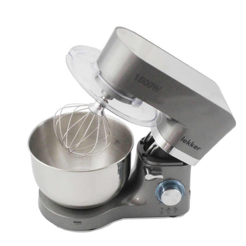 Komersial 1500W multifungsi Adonan Mixer Makanan Listrik Rumah Tangga Mixer 5.5L Telur Krim Salad Beater mixer kue