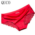 QUCO Brand sexy Women Underwear High Quality Women Panties Seamless Calvin Underwear Solid low-Rise Lingerie underwear women