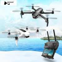 Original Hubsan H117S Zino GPS 5,8G 1KM plegable brazo FPV con UHD 4K cámara de 3 ejes cardán RC Drone Quadcopter RTF de alta velocidad