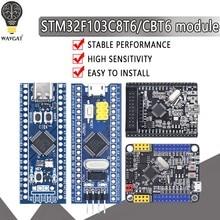 Stm32f103c8t6 stm32f103cbt6 arm stm32 módulo mínimo da placa de desenvolvimento aprendizagem do sistema para arduino 32f103c8t6