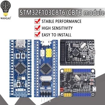 STM32F103C8T6 STM32F103CBT6 ARM STM32 Minimum System Development Board Module For arduino 32F103C8T6 1pcs lot stm32f103c8t6 stm32f103 lqfp 48 mcu arm ic st lqfp 48 stm32f103c8t6 stm32f103c8t6tr