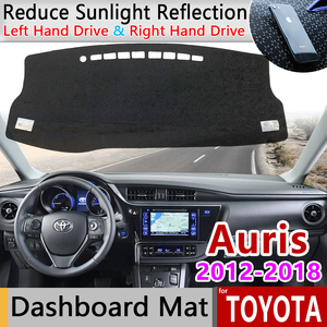 for Toyota Auris 2012~2018 E180 180 Scion iM Corolla Anti-Slip Mat Dashboard Cover Pad Sunshade Dashmat Carpet Accessories Rug(China)