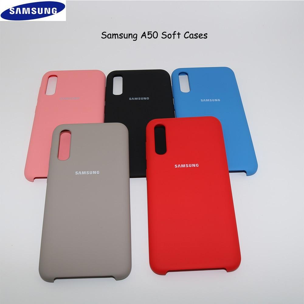 Dise/ño Mandalas Geom/étrico Vers.6 Fondo Negro Funnytech/® Funda Silicona para Samsung Galaxy A50 Gel Silicona Flexible, Dise/ño Exclusivo