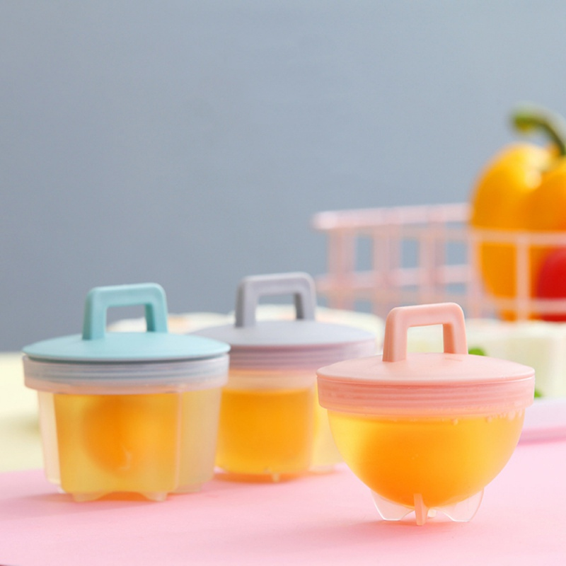 Steamed Egg Tool Cute Steamed Egg Mold Non-stick Household Baby Food Supplement Tool 4PCS