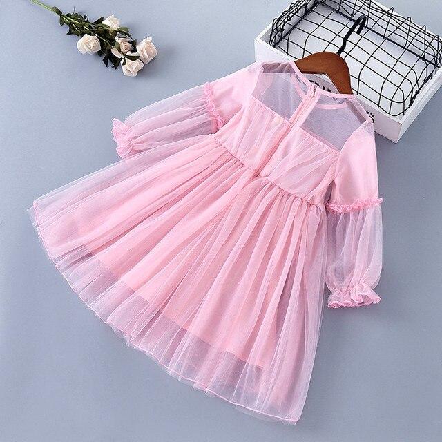 Фото от 3 до 7 лет высокое качество весеннее платье для девочек 2020