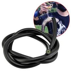 Rurka lateksowa elastyczne akcesoria do ruchów ciała wymiana kuszy gumka narzędzie do ryb nurkowanie podwodne mocny wąż na zewnątrz