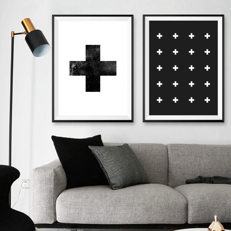 Swiss Cross Wall Art Canvas Painting
