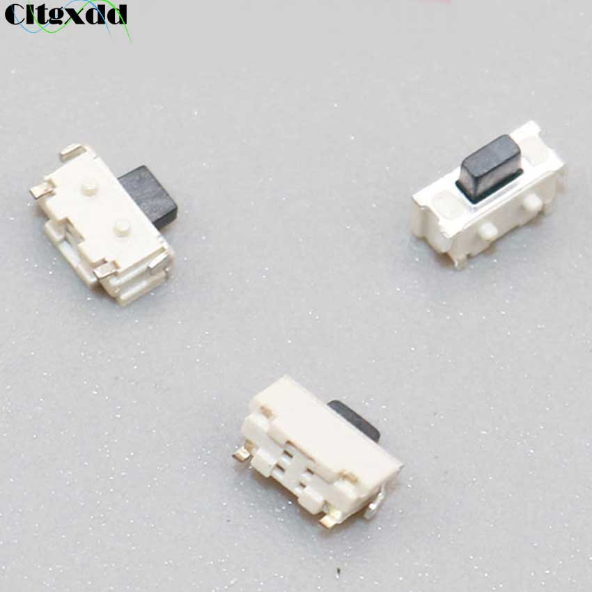 Cltgxdd 10PCS 2*4 Micro Tact Tactile Push Switch 2x4x3.5 SMD For MP3 MP4 MP5 Tablet PC Button Bluetooth Headset Remote Control