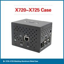С робот Raspberry Пи на 720/X725 власть правления алюминиевый корпус комплект для 3в+/3б RPI134