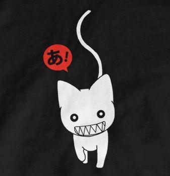 Camiseta de Manga corta Azumanga Daioh, camiseta de Anime, camiseta de gatos...