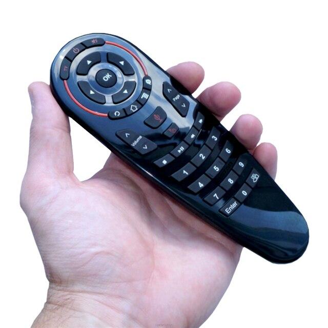 HUACP G30 air mouse 33 klawisze uczenia IR Gyro wyszukiwanie głosowe Google 2.4G latać air mouse uniwersalny pilot zdalnego sterowania dla Smart TV TV, pudełko