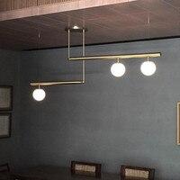 Nordic simples sala de estar led lustre personalidade atmosfera sala jantar lâmpada pós-moderna linha geométrica quarto pendurado luz