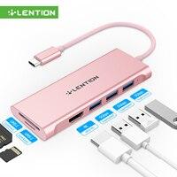 Concentrador de red USB tipo C a Multi USB 3,0, adaptador HDMI para MacBook Pro13, Huawei Mate 30 USB-C, divisor de puerto, lector de tarjetas, 2020
