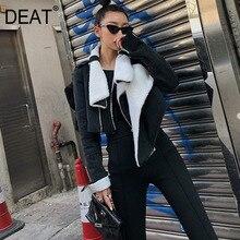 Straight Wool Jacket Plus
