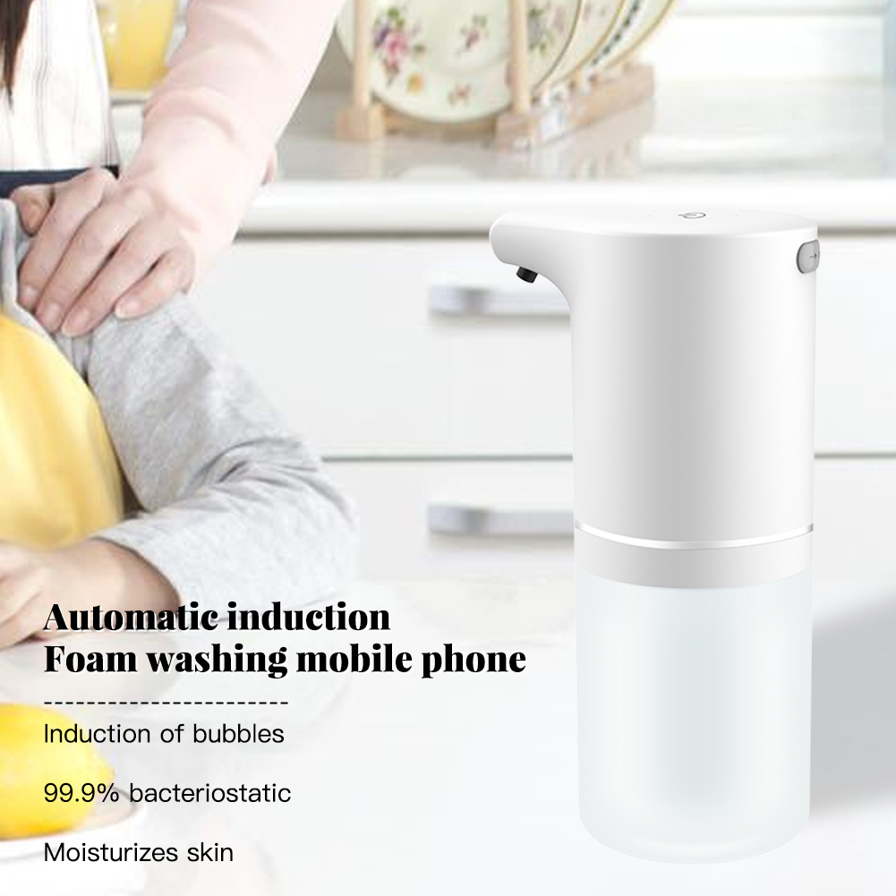 Автоматический мыло дозатор бесконтактный дезинфицирующее средство для рук ванная дозатор умный датчик пена жидкость мыло дозатор для кухни