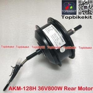 Image 2 - Q128H 36V 800W/48V800W Rear Hub Motor Fork Size 135mm for Ebike RPM 201 AKM 128H 36V /48V 800W motor for ebike motor