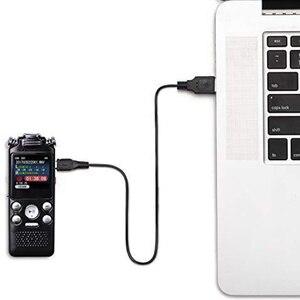 Image 3 - ノイズリダクション USB 充電カラーディスプレイ活性化ディクタフォンデジタルミニボイスレコーダー双方向マイク A B 繰り返し