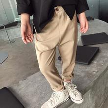 Pantalon radis pour enfant, costume décontracté pour adolescent, 2020 coton, sarouel, couleur unie, vêtements pour bébé garçon, printemps
