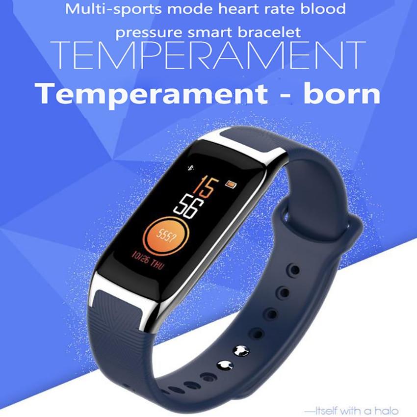 Montre de bande intelligente de mode xiomi moniteur de fréquence cardiaque tension artérielle Bracelet intelligent étanche Tracker de Fitness Bracelet fitbit