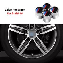 4 шт. колеса крышки стержня вентиля шины для BMW E46 E39 E38 E90 E60 E36 F30 E30 E31 E34 F10 F20 E92 E91 E70 X1 X5 X3 X6 м M3 5 G01 G30