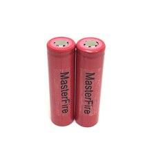 MasterFire 2pcs/lot Sanyo 18650 UR18650AA 2200mah Rechargeable Lithium Battery Lamp Flashlight LED Torch Laptop Batteries