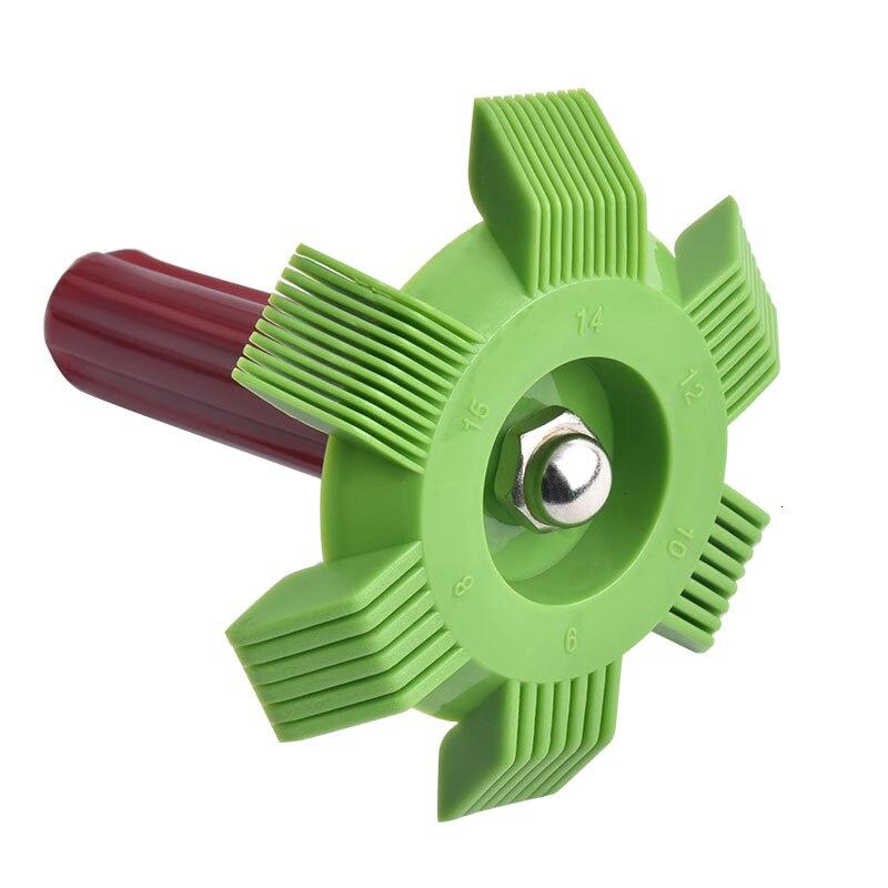 Malvado Energía Universal coche A/C radiador condensador peine para bobina alisador peine rastrillo limpiador herramienta para Auto sistema de refrigeración