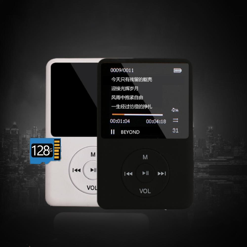 Reproductor de música MP3 con Bluetooth y altavoz fuerte, Walkman portátil HiFi de 4G con Radio /FM/reproductor de MP4 de grabación Reproductor de MP4  - AliExpress