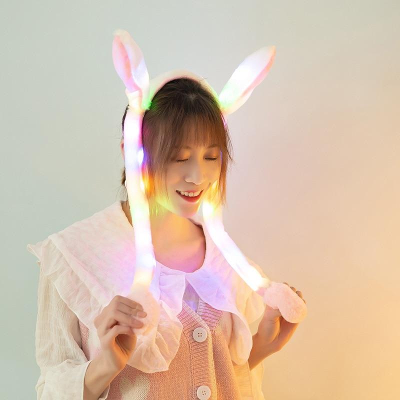 Luz brilhante do coelho do luxuoso conduziu