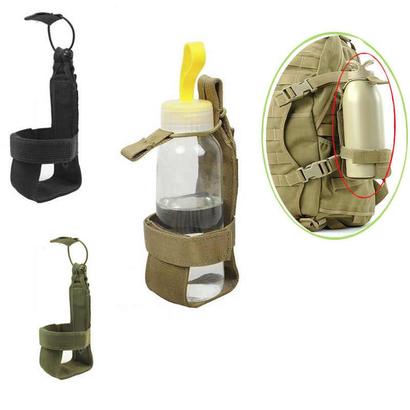 Transporte pr/áctico soporte para botella de agua mosquet/ón hebilla