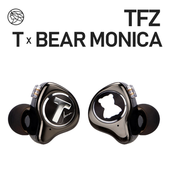 TFZ T X BEAR MONICA In Ear Monitor Professional Headphone Noise Canceling Super Bass DJ Music HIFI Headset Detachable Cable 1