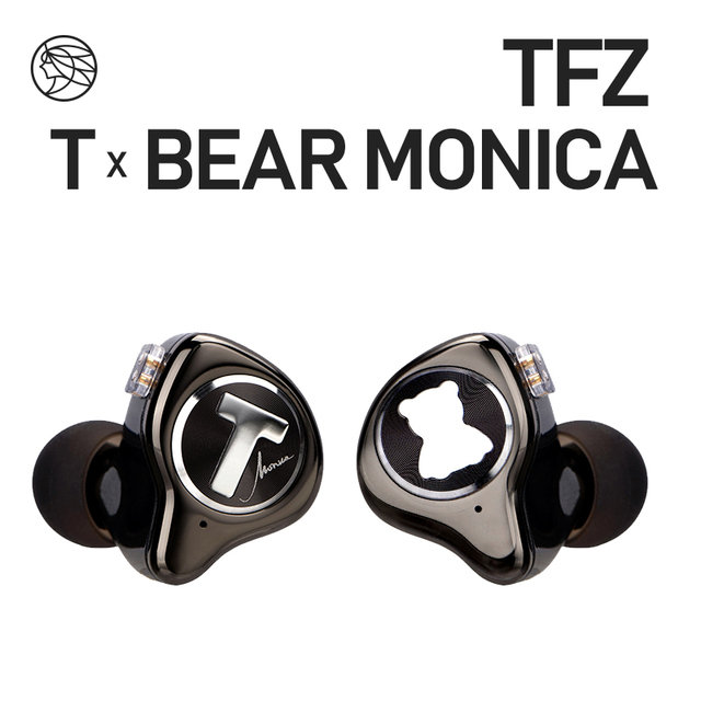 TFZ T X BEAR MONICA In Ear Monitor Professional Headphone Noise Canceling Super Bass DJ Music HIFI Headset Detachable Cable 1