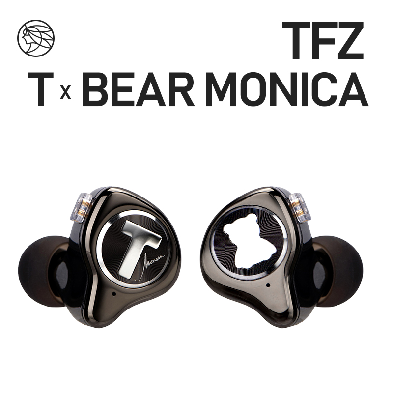 TFZ T X BEAR MONICA In Ear Monitor Professional Headphone Noise Canceling Super Bass DJ Music HIFI Headset Detachable Cable