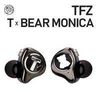 TFZ T X BEAR MONICA In Ear Monitor Professional Headphone Noise Canceling Super Bass DJ Music HIFI Headset Detachable Cable