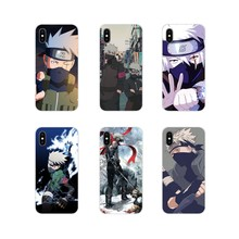 For LG G3 G4 Mini G5 G6 G7 Q6 Q7 Q8 Q9 V10 V20 V30 X Power 2 3 K10 K4 K8 2017 Naruto Kakash Anime Accessories Phone Cases Covers(China)