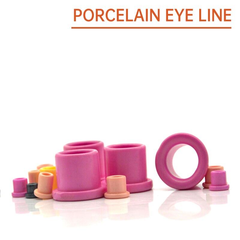 95 Alumina Wear-Resistant Porcelain Eye Ceramic Stranding Machine Stranding Copper Textile Ceramic Beads Porcelain Beads