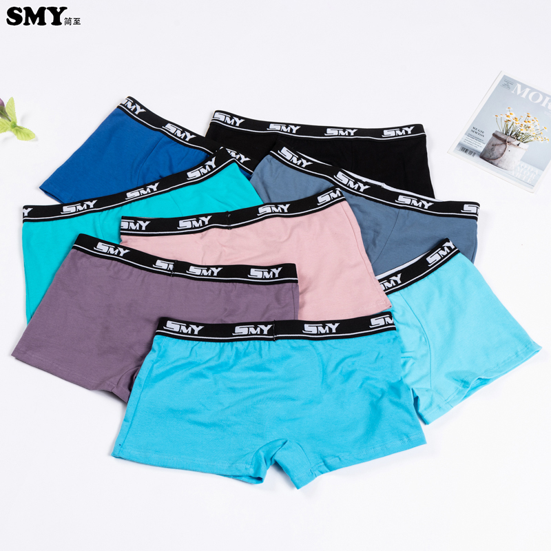 2 Pcs/lot Boys Underwear Fashion Boy Boxers Boy's Panties Kids Underpants Cotton Teenagers Boxer Shorts Panty For Teens 12-24 Y