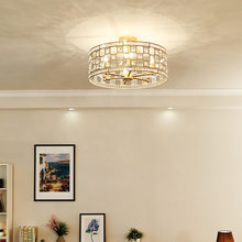 modern deco maison crystal living room restaurant LED pendant lights luminaria pendente deco maison industrial lamp(China)