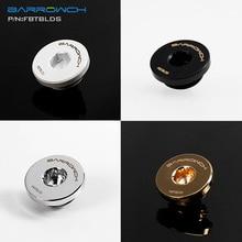 Barrowch FBTBLDS, внутренний шестигранный штекер, G1/4 ''ультра-тонкие пробки, водостопорный фитинг, черный/серебристый/золотой/белый пробки
