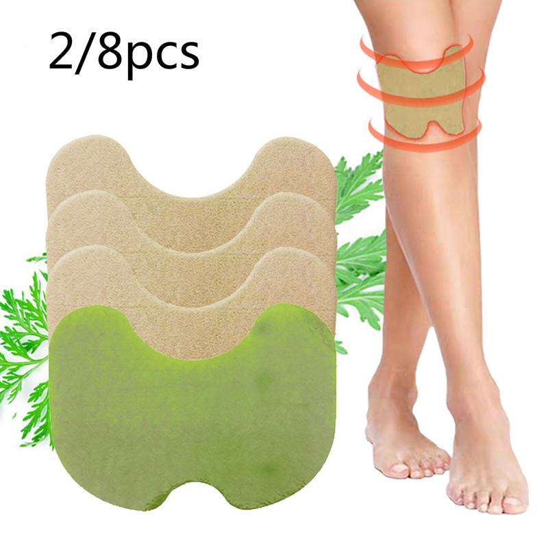 Sporting 8/2pcs Knee Medical Plaster Wormwood Extract Joint Ache Pain Relieving Sticker Rheumatoid Arthritis Body Patch Agreeable To Taste