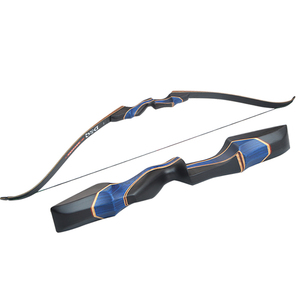 Image 4 - 1Set 56inch 20 55lbs Archery Recurve Bow Takedown American Hunting Bow Glassfiber Laminate Limbs RH Shooting Hunting Accessories