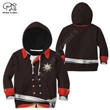Толстовки с 3d принтом Фредерика детский пуловер свитшот спортивный