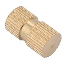 5 pcs M6 B Type Stainless Steel Square Nuts Blind Hole Single Pass Inserts Brass Embedded Parts Knurled Durable In Use