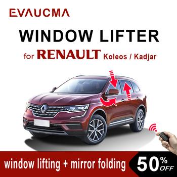 Wielofunkcyjne zamknięcie do okna Renault Koleos Kadjar podnośnik szyby i składane lusterko wsteczne samochodowe systemy alarmowe akcesoria tanie i dobre opinie NoEnName_Null CN (pochodzenie) Window Closer Do ruchu lewostronnego
