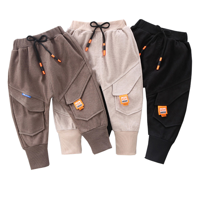 Boys Pants Spring Children Clothing High Quality Harem Pants Autumn Toddler Girls Trousers For 1-6 Years Fashion Baby Kids Pants 1