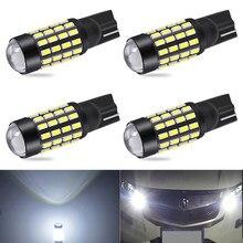 4x w5w t10 led 194 168 lâmpada do carro luz de estacionamento para opel astra h g j insignia mokka toyota avensis rav4 ford focus 2 3 fiesta