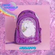 School Backpack Winner Cartoon Unicorn Rainbow Water Repellent for Teenage Girls Bags 2019 TB69