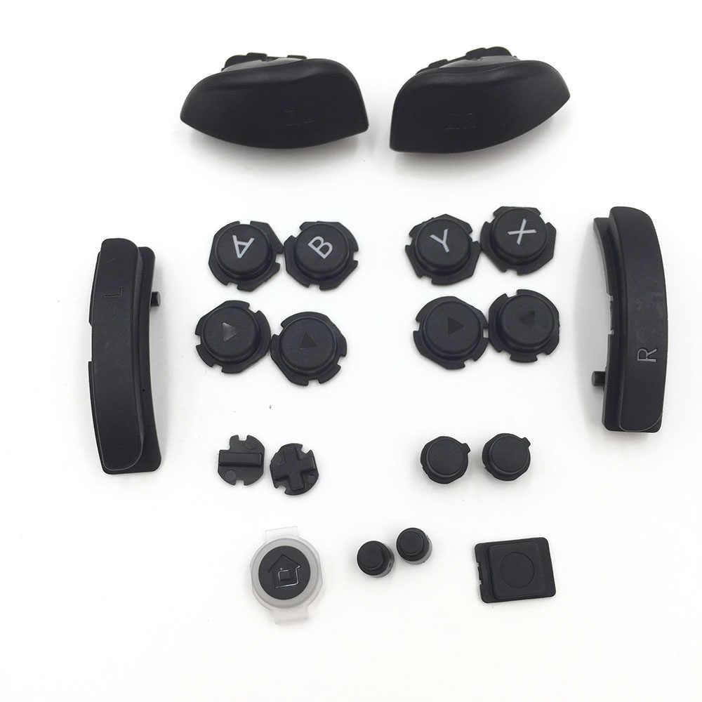 Reemplazo del botón ABXY LR ZL ZR para Nintendo Switch, Joy-Con, Kits de reparación para NS, botón controlador de juego de consola izquierda y derecha