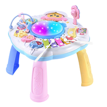 Early Educational Study Activity Center Music Game Infants Musical Instrument Learning Table Baby Toys Piano Kids Children Gift